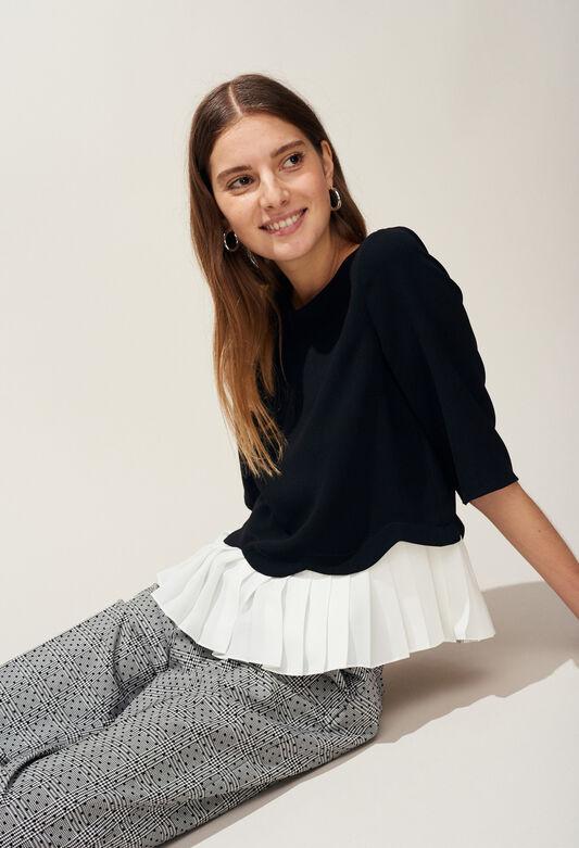 BRUINE : Tops et Chemises couleur NOIR