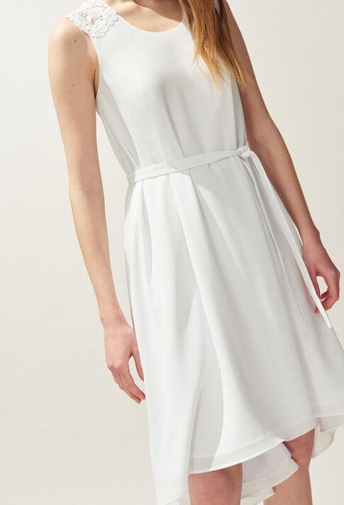 RHEA : Dresses color Ecru