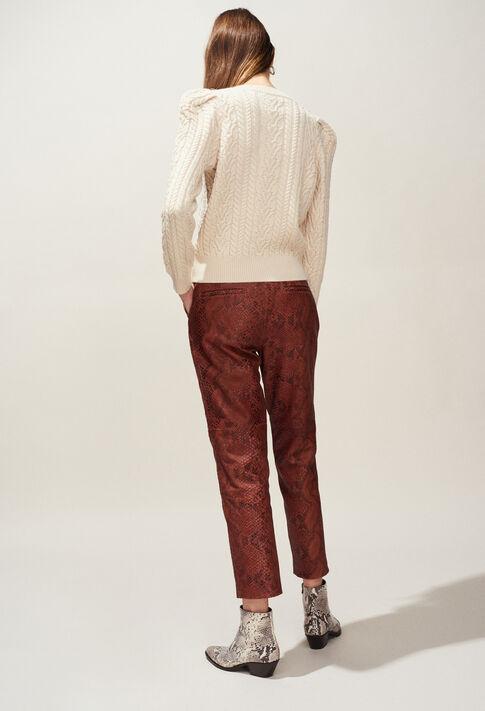 MONTESQUIEU : Maille & Sweatshirts couleur Ivoire