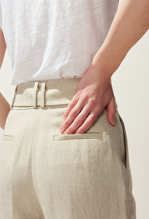 PALAIS : Jeans & Pants color Naturel
