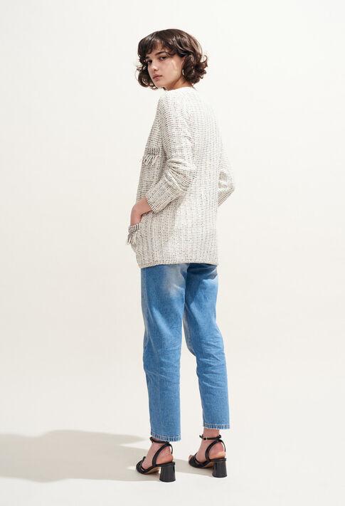 MATINA : Maille & Sweatshirts couleur ECRU