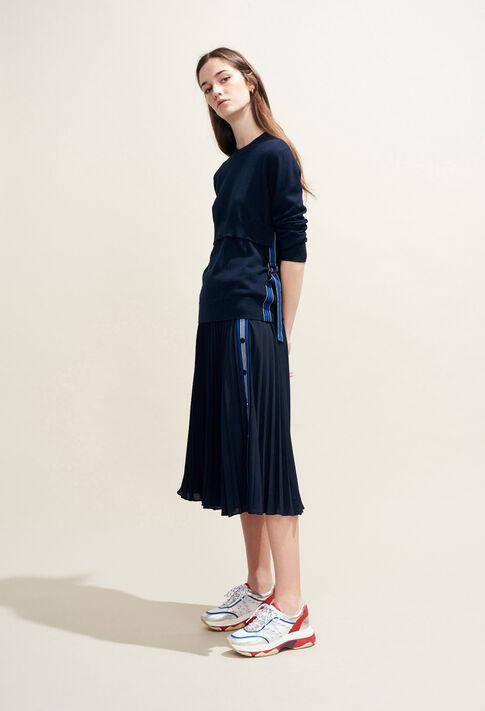 SEA : Skirts & Shorts color Navy