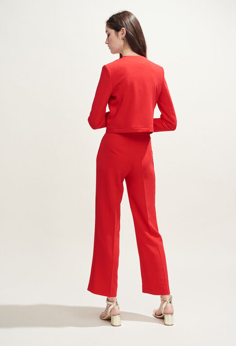 POURPRE : Pantalons et Jeans couleur ECARLATE