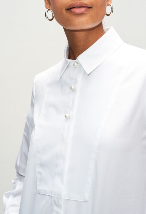 CHACHAH19 : Tops & Shirts color WHITE