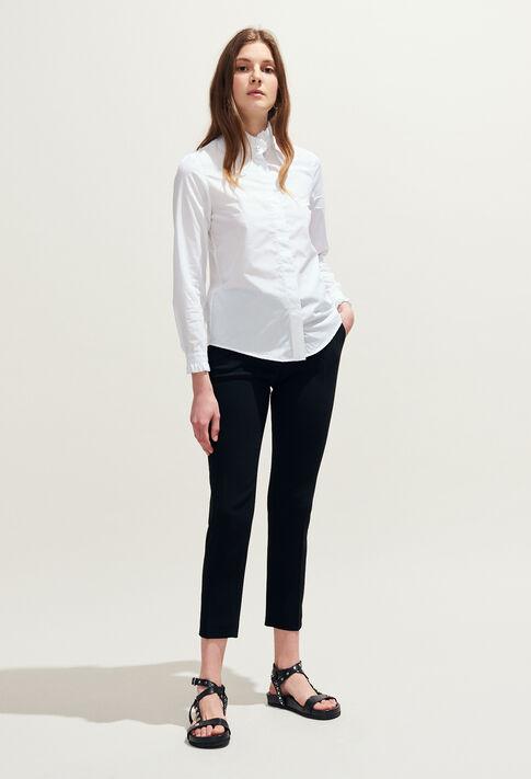 COLOMBINE TER : Tops et Chemises couleur Blanc