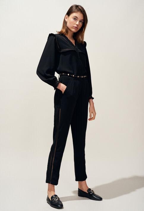 PAON : Jeans & Pants color Black