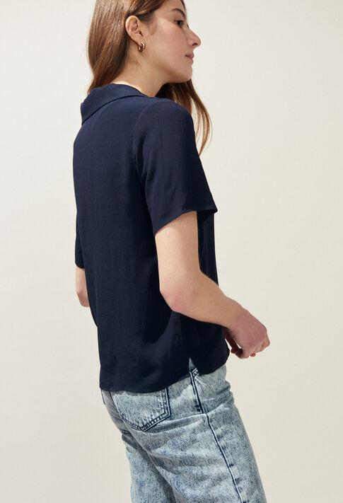 CAMBRIDGE BIS : Tops et Chemises couleur Marine
