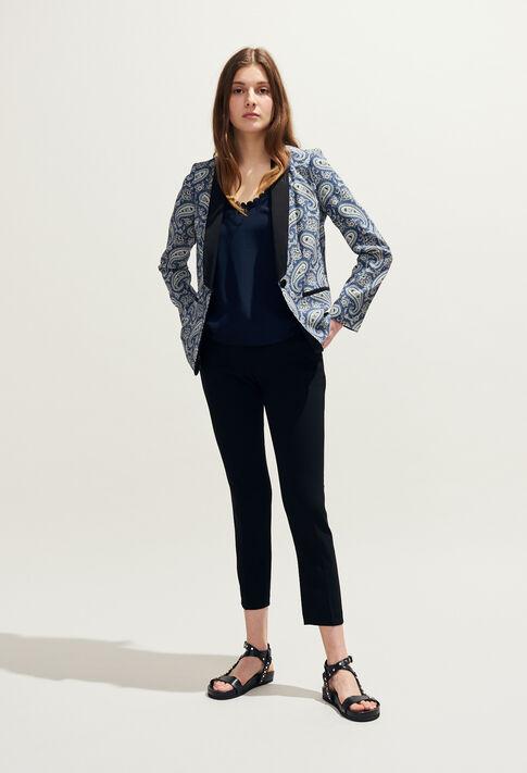 VINNY : Coats & Jackets couleur Marine