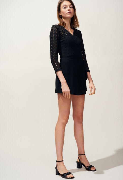 JULY : Skirts & Shorts color Black