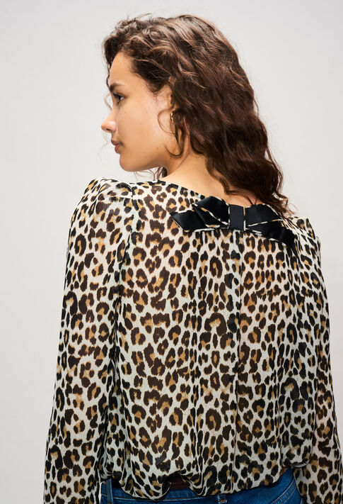 BANCLEOPARDH19 : Tops & Shirts color PRINT