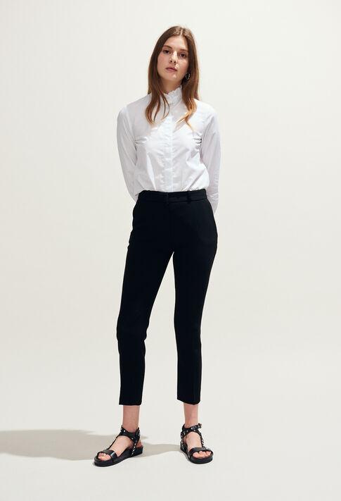 POUSSIN : Pantalons et Jeans couleur Noir