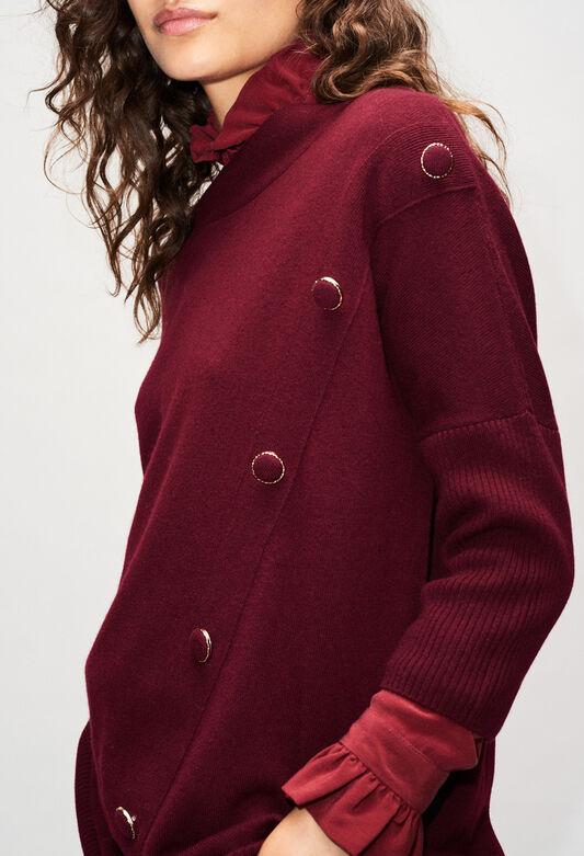 MARYH19 : Knitwear & Cardigans color VELVET