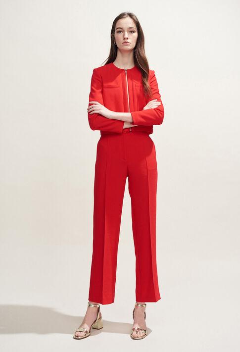 VILLE : Coats & Jackets couleur Ecarlate