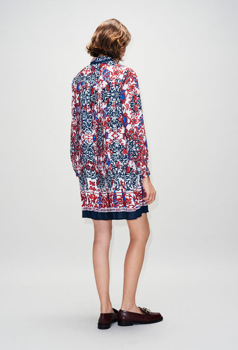 RAMSESH19 : Robes couleur PRINT