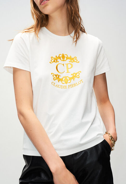 TOURNESOLH19 : T-Shirts couleur ECRU