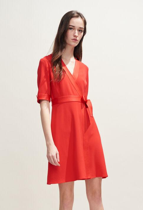 ROSILEA : Robes couleur ECARLATE