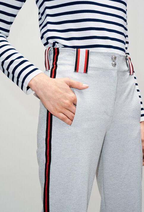 TACCOH19 : Jeans & Pants color GRIS CHINE CLAIR