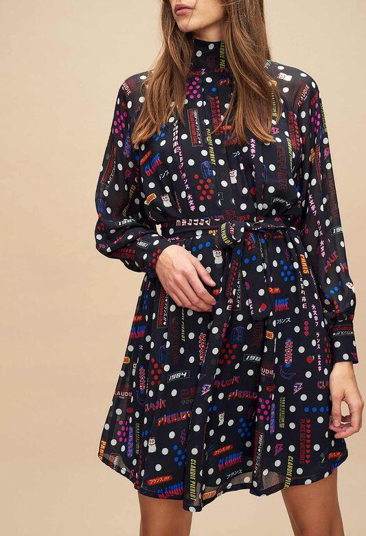 Les petites robes noires - Catégories femme   Claudie Pierlot eb8b885e9608