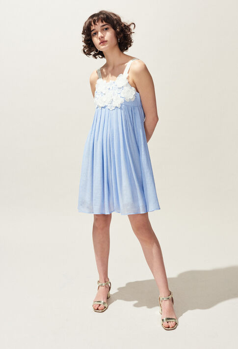 RAMDAM : Dresses color Ice Blue