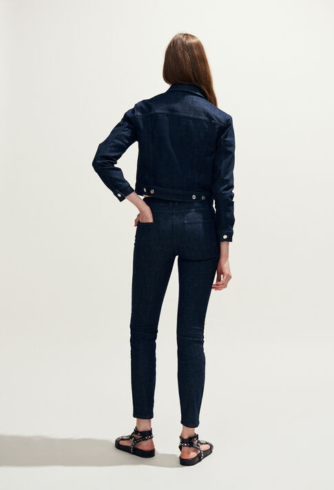 VIZIR : Coats & Jackets color Jean