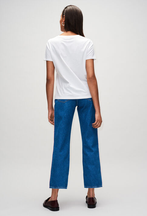 TIAMOH19 : T-shirts color ECRU