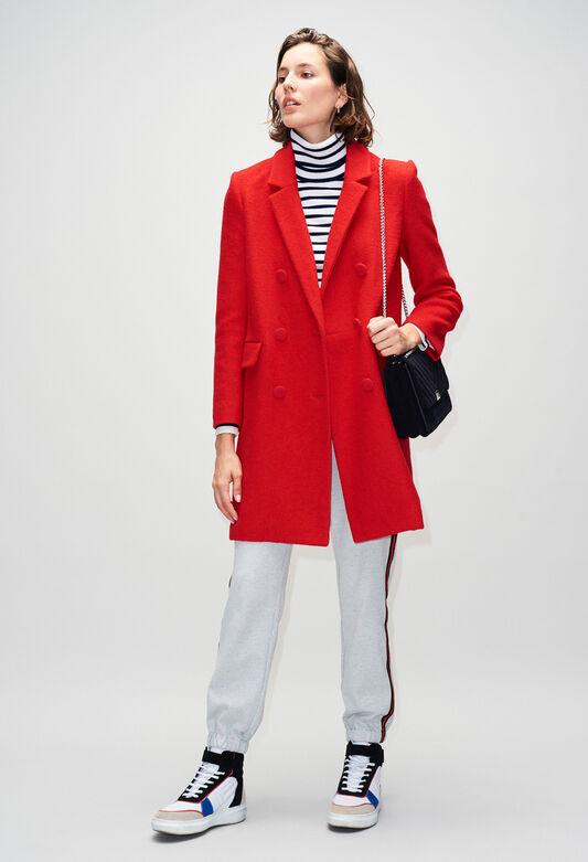 GERTRUDEH19 : Coats & Jackets color ROSE PECHE