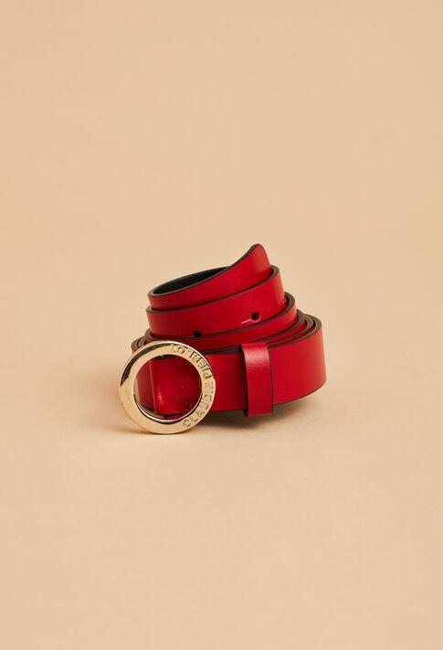 ALIGATO : Les Chaussures & Accessoires couleur ROUGE