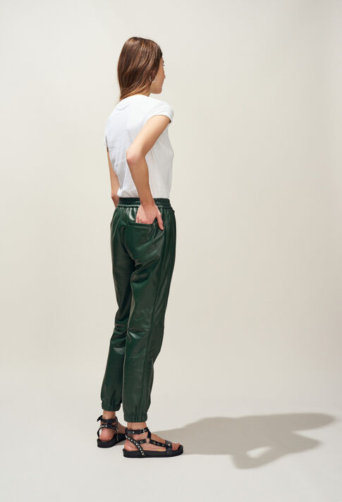 CANOPEE : Jeans & Pants color VERT IMPERIAL