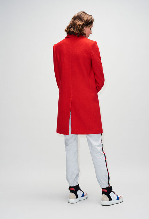 GERTRUDEH19 : Coats & Jackets color RED POPPY