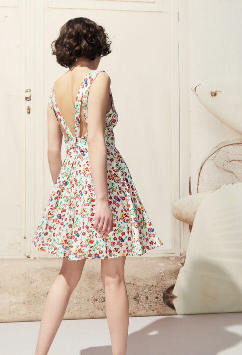 RENCONTRE FLEURS : Dresses color Multico