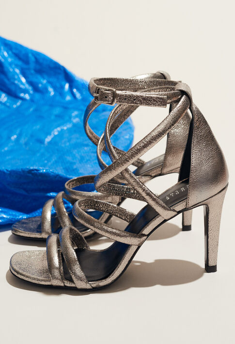 AZALEE : Shoes color Silver