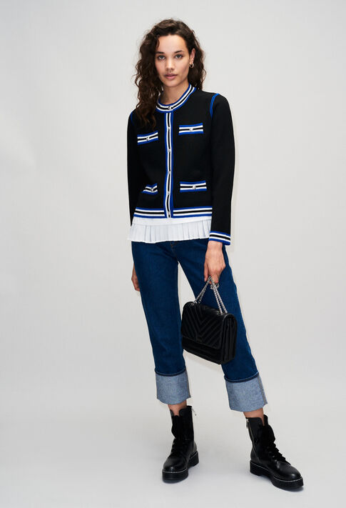 MEONIEH19 : Knitwear & Cardigans color BLACK