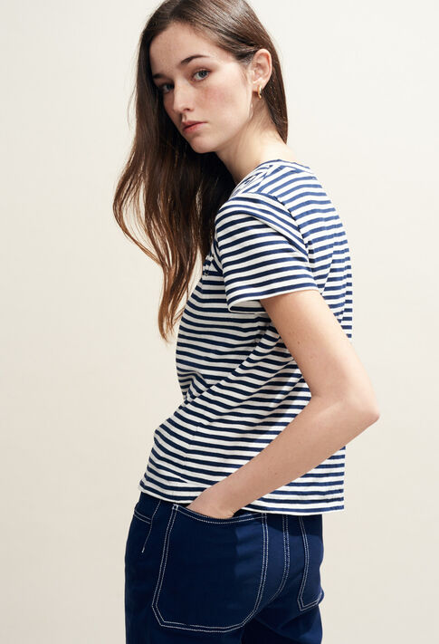TOSCANE : T-shirts color Navy