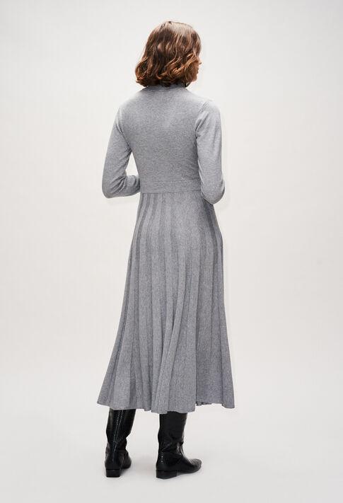 MAMMAH19 : Robes couleur GRIS CHINE CLAIR