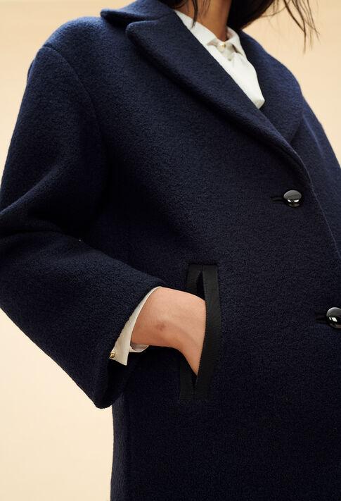 GENIAL : Les Vestes & Manteaux couleur Marine