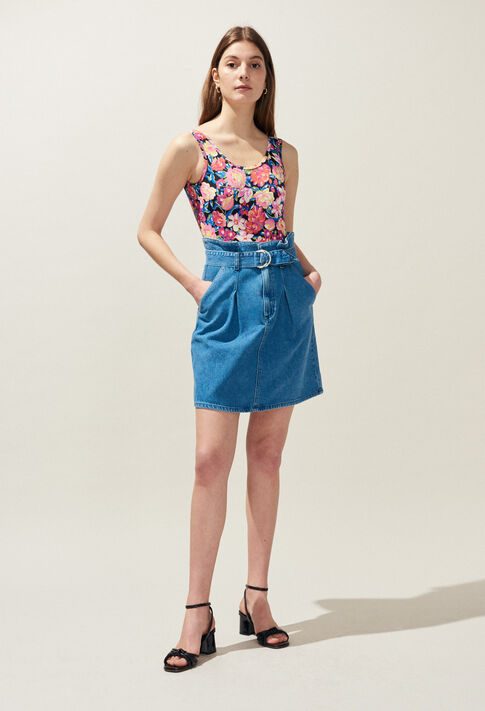STELLE : Skirts and shorts color JEAN
