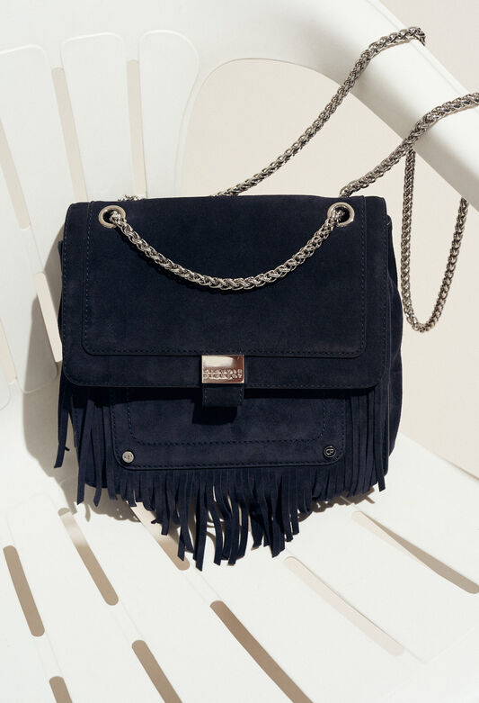 ANGELA : Bags & Leather Goods color Navy