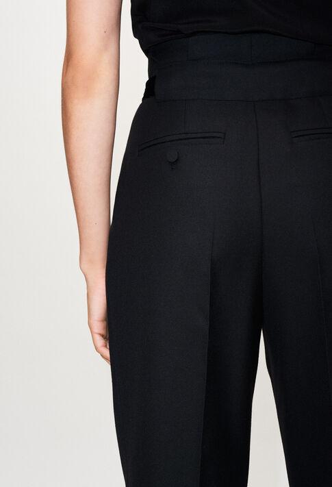 PAULETTAH19 : Pantalons et Jeans couleur NOIR
