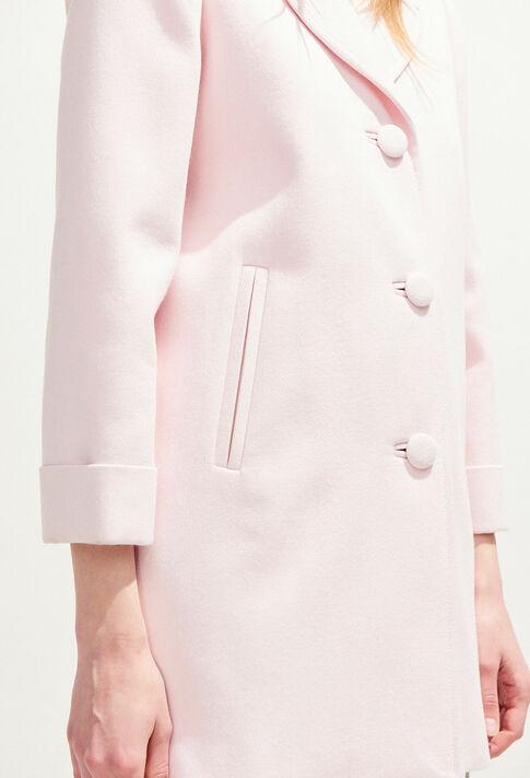 GLENN BIS : Coats & Jackets couleur ROSE