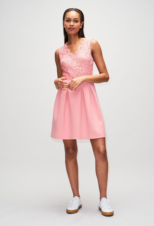 RAGAZZAH19 : Robes couleur ROSE PECHE