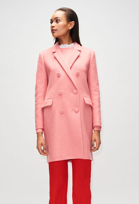 GERTRUDEH19 : Coats & Jackets color ROSE PECHE