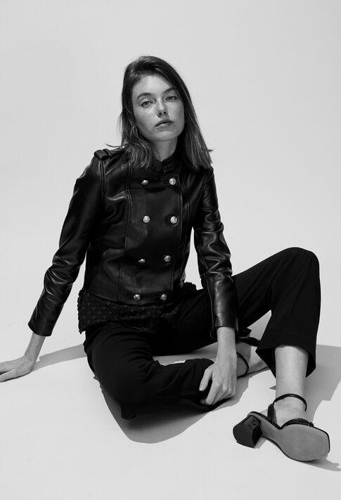 CASEY : Coats & Jackets couleur Noir