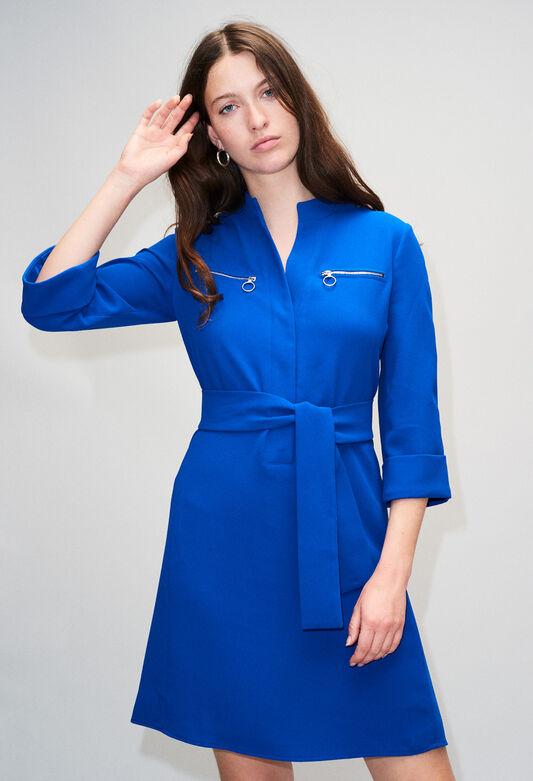 REDH19 : Dresses color BLEU ROI