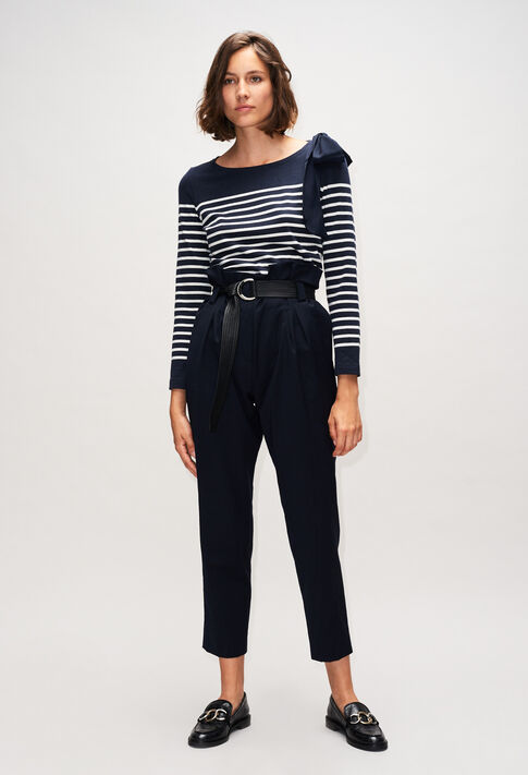 PIPIOUH19 : Jeans & Pants color NAVY