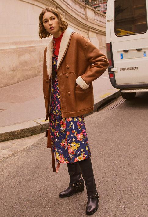 FREEZE : Les Vestes & Manteaux couleur Chatain