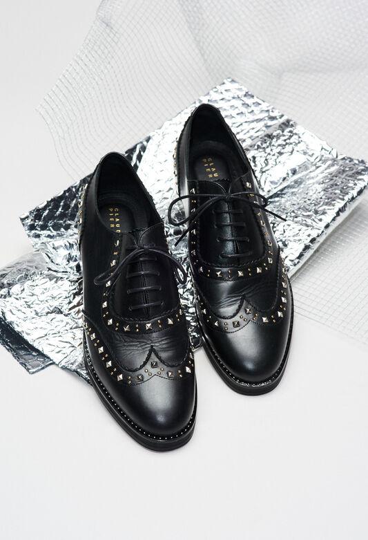 ALEXISSTUDSH19 : Chaussures couleur B001