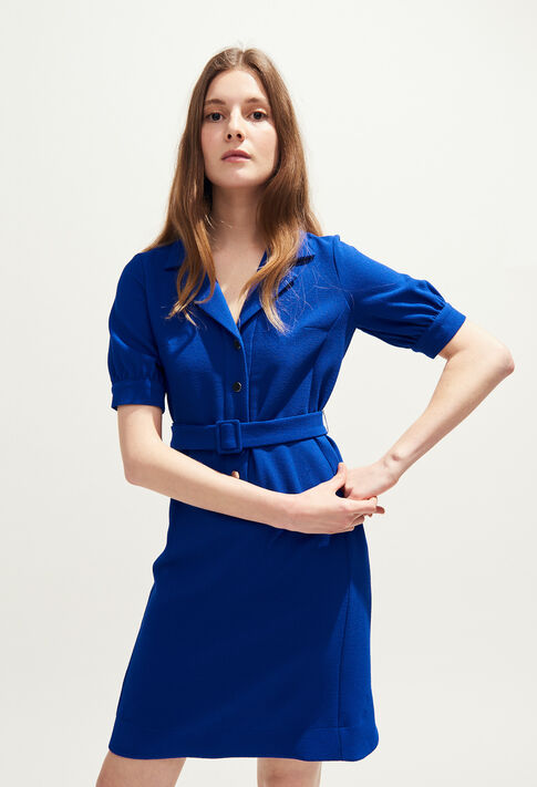 ROSEA BIS : Dresses color INDIGO