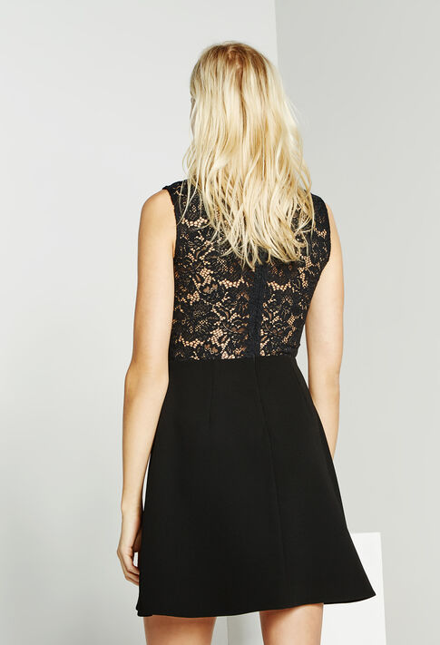 REFRAIN BIS : Empire lingerie color Black