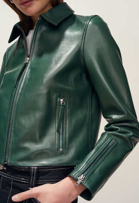 CAYCE : Coats & Jackets couleur VERT IMPERIAL