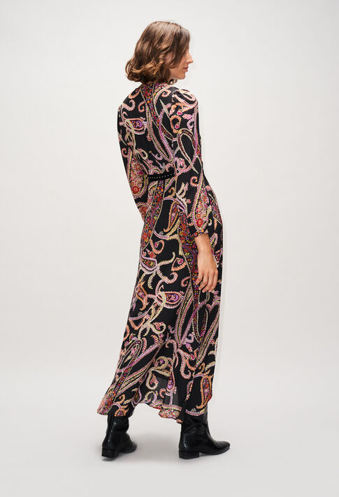 RACINEH19 : Robes couleur PRINT